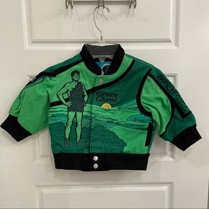 GENERAL MILLS GREEN GIANT BOMBER JACKET. SIZE 18mo